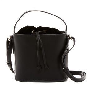 French Connection Leather Bukcet Bag